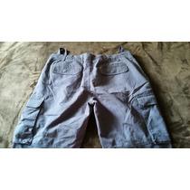 Pantalon Tipo Carpintero Marca Monaco Color Gris 38x32 Nuevo