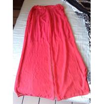 Pantalones Dama Jumpsuit Coral Talla G Verano Playa Shifon
