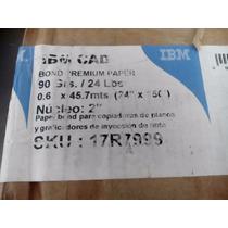 Rollo Papel Bond Ibm Para Ploter 24 X150ft 17r7999