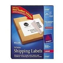 Etiquetas 5165 Avery Blancas Tamaño Carta