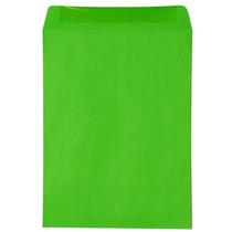 Sobre Bolsa Carta Flashmail, Paq 50 Colores Rojo Verde Amari