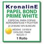 Rollo Bond Prime White Plotter Pw466 0.61x50 Mt N3 Hp,epson