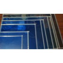 Micas Porta Documentos Azul Tamaño Carta Papeleria