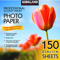 Papel Fotografico Profesional Satinado Caja 150 Hojas