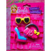 Set De Borradores De Barbie De Lentes Bolsa Etc