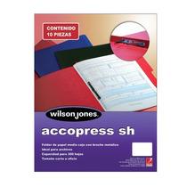 Folder Accopres Negro C/ Broche Metalaco-fol-p0943 Upc: 750