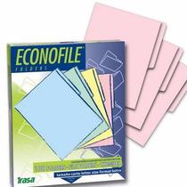 Folder Manila Rosa T Carta Cja C/100 Marca Pc Form Econofil