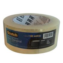 Cinta Adhesiva Empaque Embalaje Transparente Scotch 3m