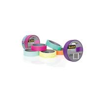 Cinta Adhesiva Masking Tape Diseño Colores Scotch 3m