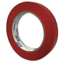 Cinta Adhesiva 18mm Rojo Papel Crepé Tuk