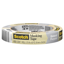 Cinta Adhesiva Masking Tape Uso General 3/4 Scotch 3m