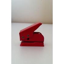 Micro Perforadora De Metal Color Rojo - Hasta 10 Dic