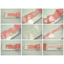 Lote De 15 Rollos De Estampa Sticker Para Scrapbook 1m. C/u