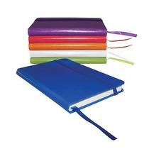 Cuaderno De 80 Hjs. Rayada De 9x14cm De Carton Y Papel,promo