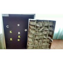 Caja De Letras Para Pizarron Ranurado Con 960 Pzs
