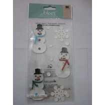 Stickers Snowman Spjp005 Ek Success Scrap