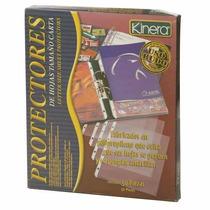 Protector Hojas Carta Opaco, Perforado, Caja 50 Azo-prh-36