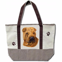 Bolsa De Manta Sharpei - Hermosa Tote Bag!