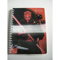 Cuaderno Star Wars Episodio 1 Darth Maul Portada