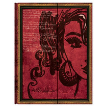 Libreta Ultra Amy Winehouse Tears Dry Rayas Paperblanks