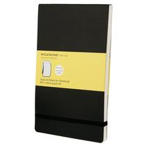 Libreta Negra Grande Cuadros Moleskine Cuaderno