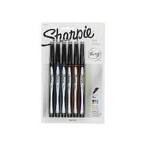Sharpie Pen Fine Point Pluma, 6 Colored Pens (1751690)