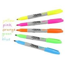 Sharpie Neón Permanente Marcadores Fine Point Colores Surtid