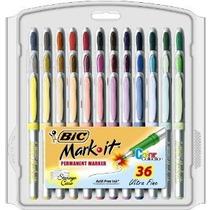 Bic Mark-se Marcador Permanente Ultra Fine Point Colores Sur