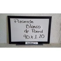Pizarrón Blanco Pared 90x1.20