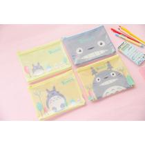 Totoro 1 Monedero + 1 Lapicera Plástica Estudio Ghibli
