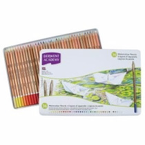 Set Colores Acuarelables Derwent Con 36 Lapices