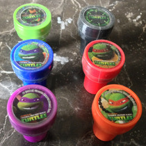 Set De Sellos Tortugas Ninja Turtles Tmnt Nickelodeon Vv4