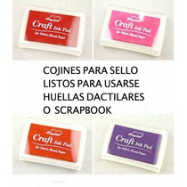Cojin Color Para Sellos Huellas Dactilares O Scrapbook