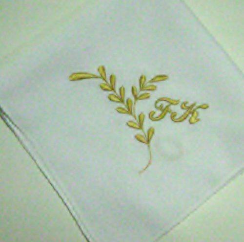 Paq 6, Servilletas Bordadas Para Eventos,boda,xv,comunion ...