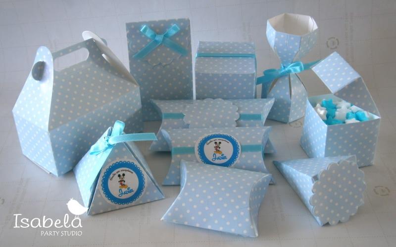 Paquete De Cajitas Recuerdos Dulces Baby Shower Niño - $ 90.00 en ...