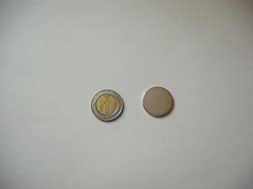 Paquete De Imanes De Neodimio 20x2mm, 12000 Gauss