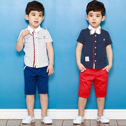 Ropa Para Niño Casual Elegante Moda Asiática Envio Gratis ...