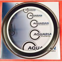 Aquarian Studio-x 14 Parche P/ Bateria Envio Gratis!