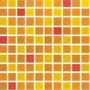Azulejo Veneciano Para Cocina Naranja Mosaico De Cristal 4mm