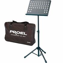 Atril Orchesta Partitura Proel Rsm 360m Promo Envio Gratis