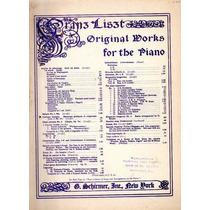 Franz Liszt Cantique D
