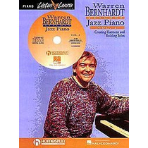 Warren Bernhard Libro Cd Jazz Piano Teclado Pedal Interfase