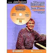Warren Bernhard Libro Cd Jazz Piano Teclado Pedal Interfase