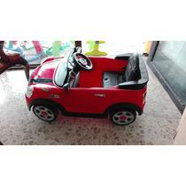Carrito Electrico Montable Mini Cooper S Coupe Rojo Prinsel