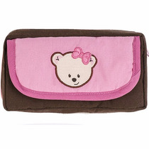 Porta Toallitas Humedas Con Cambiador Para Bebe Baby Pink