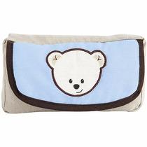 Porta Toallitas Humedas Con Cambiador Para Bebe Baby Blue
