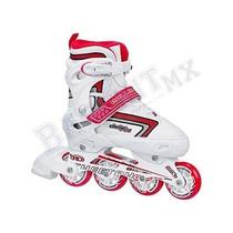 Patines En Linea Roller Derby Ajustable Inline P/ Niña