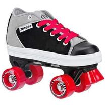 Patines Tipo Quad Roller Derby Zinger P/ Niño. Exclusivos!