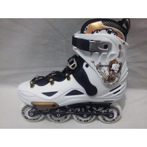 Patines Free Style Oxer Fighter Profesionales Abec 7
