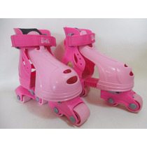 Patines Linea Entrenamiento Barbie Niña Tenis 17-20cm C918
